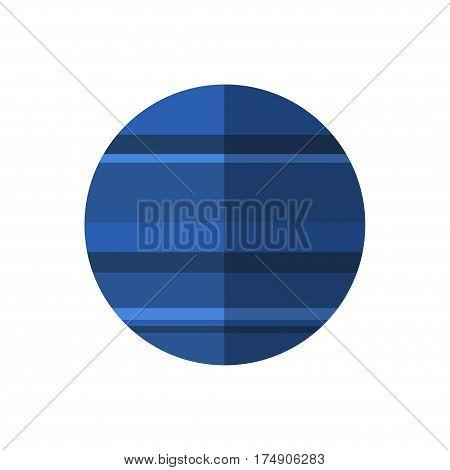 Neptune Vector Icon