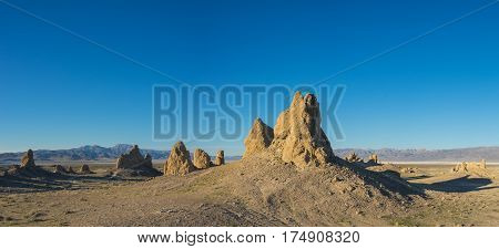 Expanse Of Desert Rock Formations