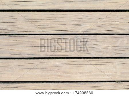 Light wood background. Natural wood texture with horizontal lines. Wooden background for banner. Timber texture closeup. Horizontal wooden planks of floor backdrop photo. Natural material for banner