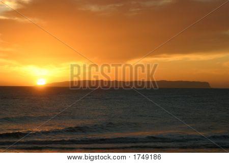 Sunset Over Ni'Ihau