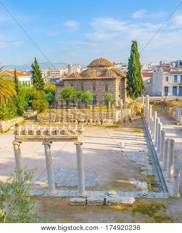 The Roman Agora Archaeological Site