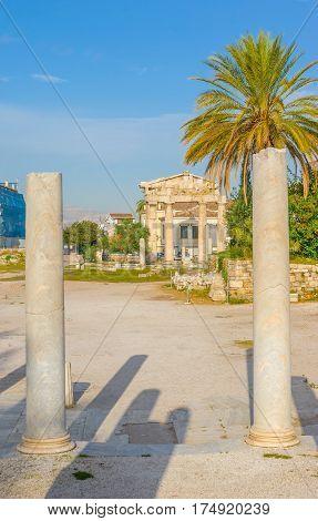 The Ancient Columns