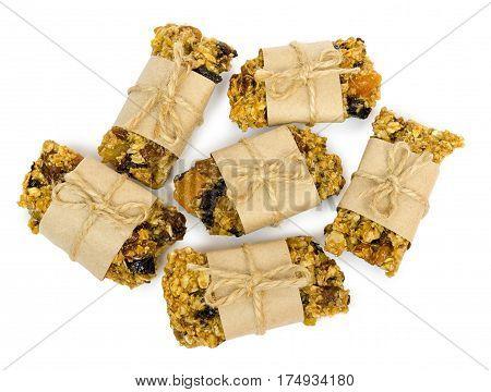 Delicious Homemade Pastries. Granola With Organic Inhibitors.