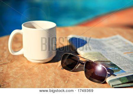 Poolside Morning