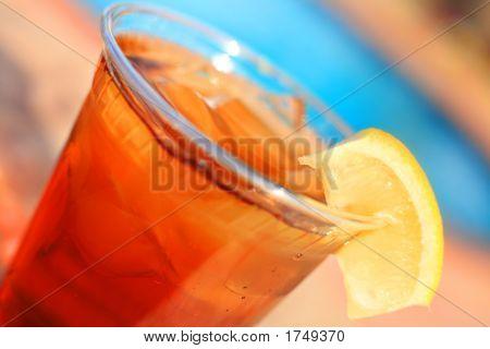 Iced Tea Poolside