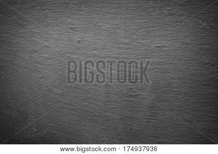slab of dark gray slate as background texture