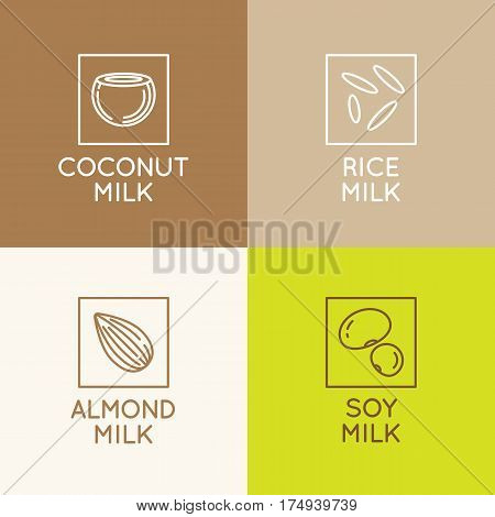 Almond, Coconut, Rice And Soy Milk