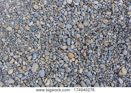 Stones. Stony ground. Stones on the ground.