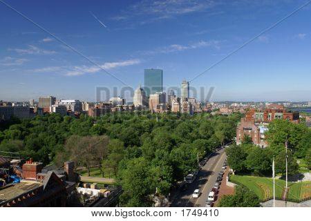 Spring Morn In Boston