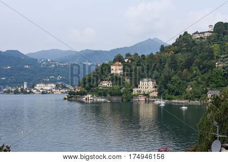 Sacred Mount Orta On Piedmont