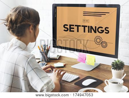 Tools System Setup Settings Connection Configuration