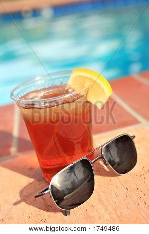 Ice Tea And Sunglasses