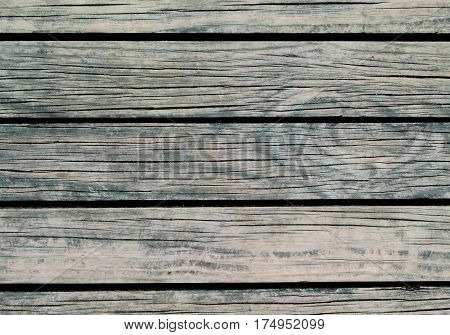 Rough wood background. Natural wood texture with horizontal lines. Wooden background for banner. Timber texture closeup. Horizontal wooden planks of floor backdrop photo. Natural material for banner