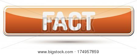 Fact - Abstract Beautiful Button With Text.