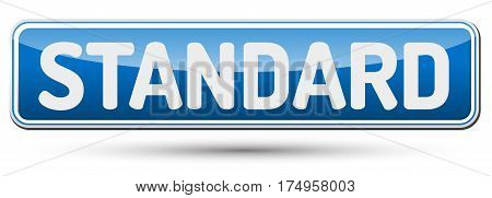Standard - Abstract Beautiful Button With Text.