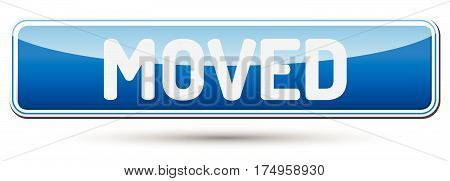 Moved - Abstract Beautiful Button With Text.