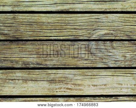 Eco wood background. Natural wood texture with horizontal lines. Wooden background for banner. Timber texture closeup. Horizontal wooden planks of floor backdrop photo. Natural material for banner