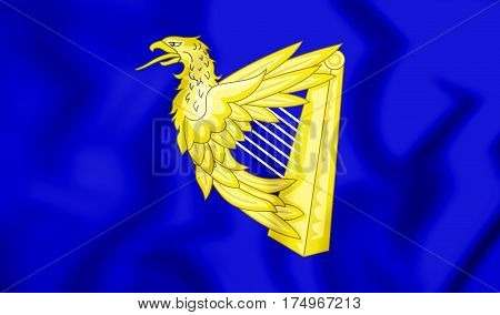 Ireland_eagle_harp_flag
