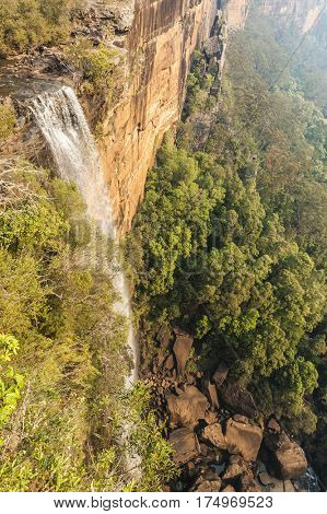 Fitzroy Falls in the Morton National Park. New South Wales. Australia