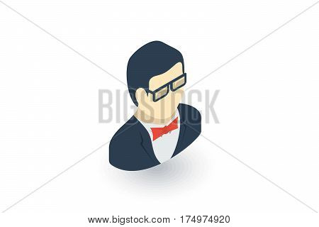 isometric flat icon. 3d vector colorful illustration. Pictogram isolated on white background