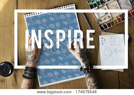 Lifestyle Relax Inspire Hobby Recreation Word