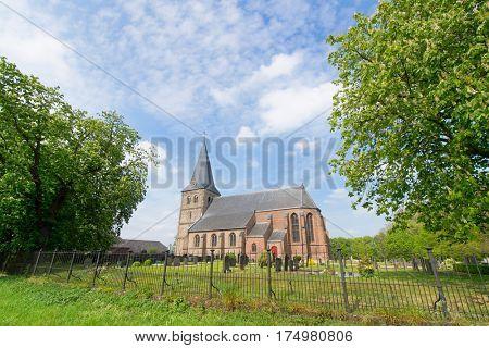 Dutch church Sint-Joriskerk in place Voor-Drempt