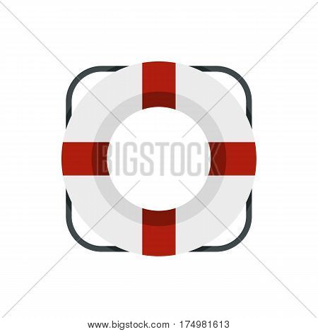 Lifeline icon isolated on white background vector illustration