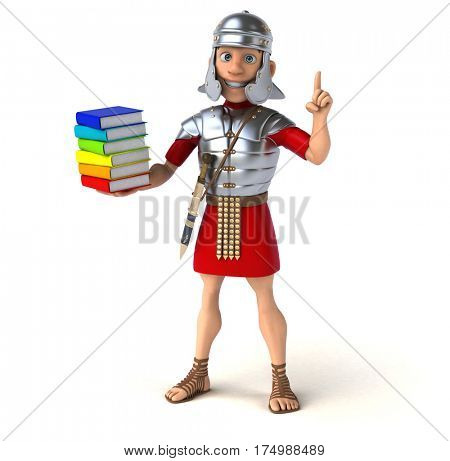 Roman soldier - 3D Illustration