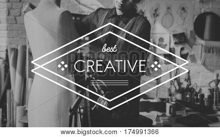 Creative Ideas Design Imagination Inspiration Badge Banner