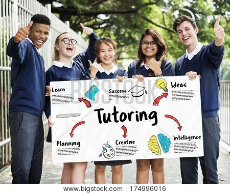 Learning School Education Diagram Concept