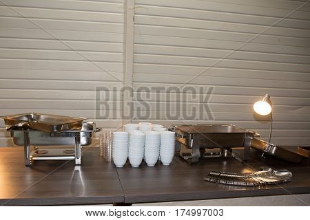 The Caterer To Prepare All The Equipment For The Reception