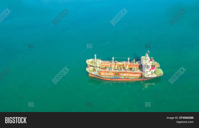 Oil Tanker, Gas Tanker Image & Photo (Free Trial)   Bigstock