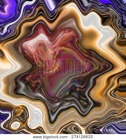 Abstract Nacre Texture. Marbled Background. Pearlescent Surface.