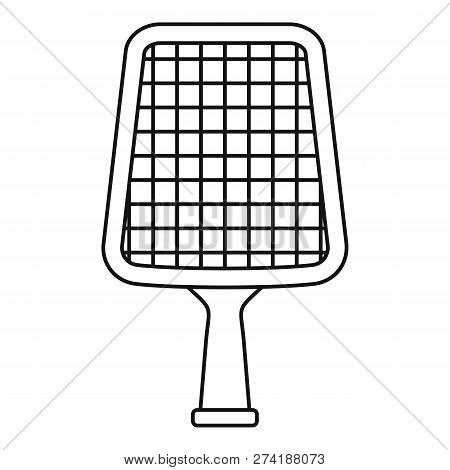 Shallow Water Net Icon. Outline Shallow Water Net Vector Icon For Web Design Isolated On White Backg