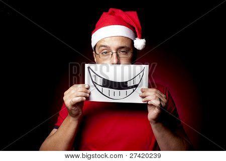 Fake Xmas Smile