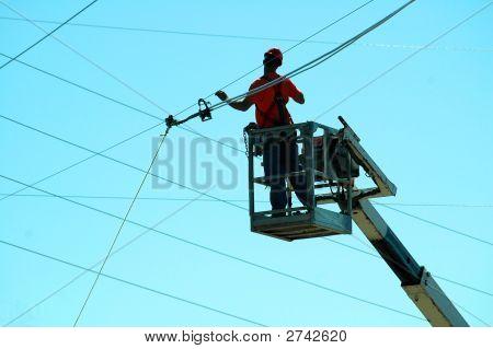 Telephone Lineman