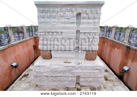 Base Of Egyptian Obelisk, Istanbul, Turkey