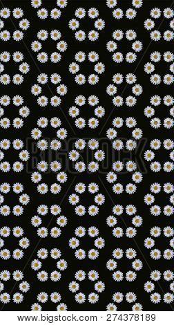 Kunstvolles Geometrisches Muster Und Abstrakter Farbiger Hintergrund