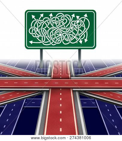 United Kingdom Political Uncertainty And Brexit Crisis Challenge Or Parliamentary Vote Confusion As