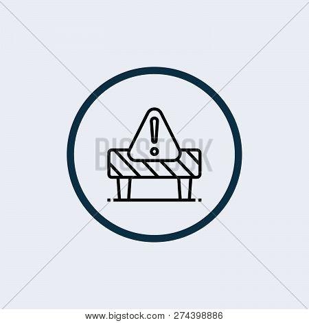 Danger Sign, Warning Sign, Attention Sign, Hazard Sign, Vector Illustration - Vector