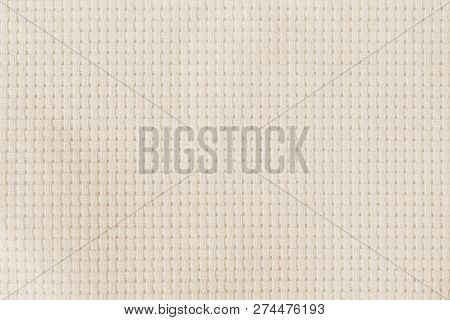 Aida Fabric Cloth For Cross-stitch (cross-stich) Embroidery Handcrafts With Square Mesh Pattern Line