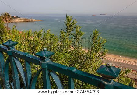 The Balcony On The Mediterranean With A View Of The Bay Of Tarragona, Spain /for The Tarragonesi It