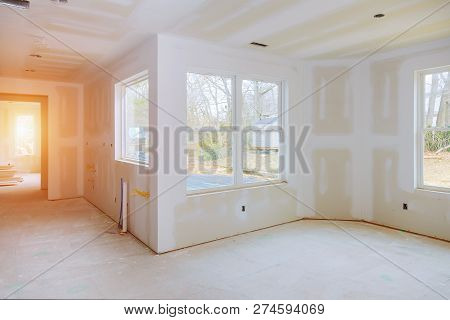 Interior Construction Of Housing Construction Building Industry New Home Construction Interior Build
