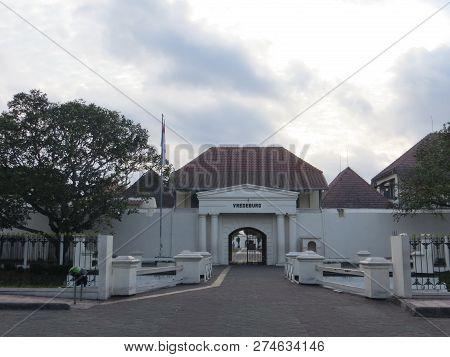 Yogyakarta, Indonesia - October 31, 2018: Museum Benteng Vredeburg (fort Vredeburg Museum) Was A For