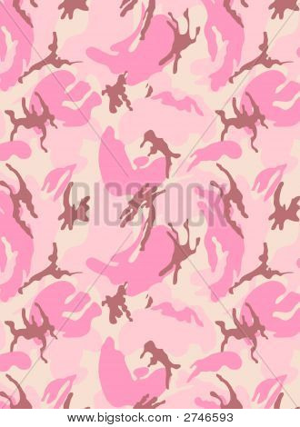 Camouflage Pink