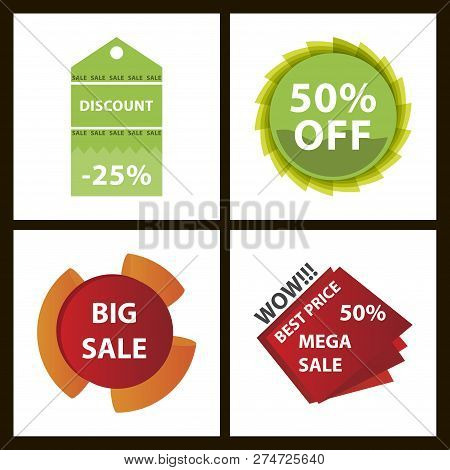 Mega Sale With Upto 50 Discount Offer, Creative Poster, Banner Or Flyer Design, 3d Typographical Bac
