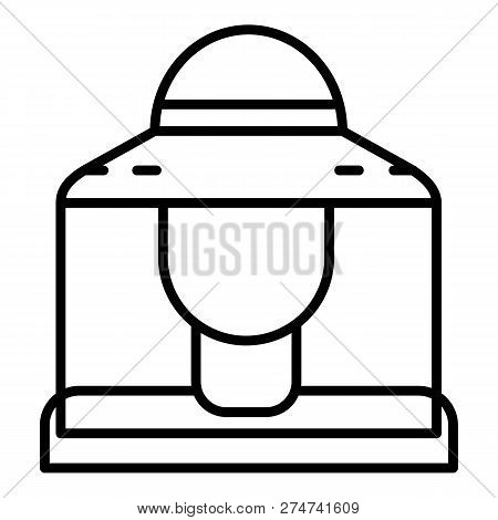 Bee Keeper Icon. Outline Bee Keeper Vector Icon For Web Design Isolated On White Background