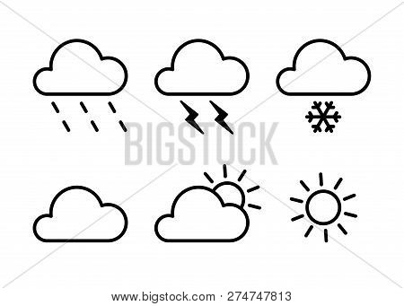 Set Black Isolated Vector & Photo (Free Trial) | Bigstock