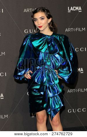 LOS ANGELES - NOV 3:  Rowan Blanchard at the 2018 LACMA: Art and Film Gala at the Los Angeles County Musem of Art on November 3, 2018 in Los Angeles, CA