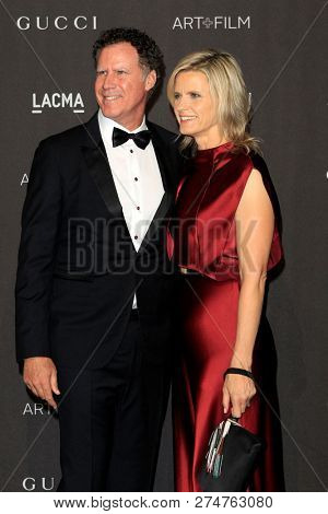 LOS ANGELES - NOV 3:  Will Ferrell, Viveca Paulin at the 2018 LACMA: Art and Film Gala at the Los Angeles County Musem of Art on November 3, 2018 in Los Angeles, CA